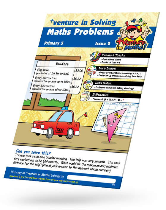 venture in Solving Maths Problem – Add-venture Learning